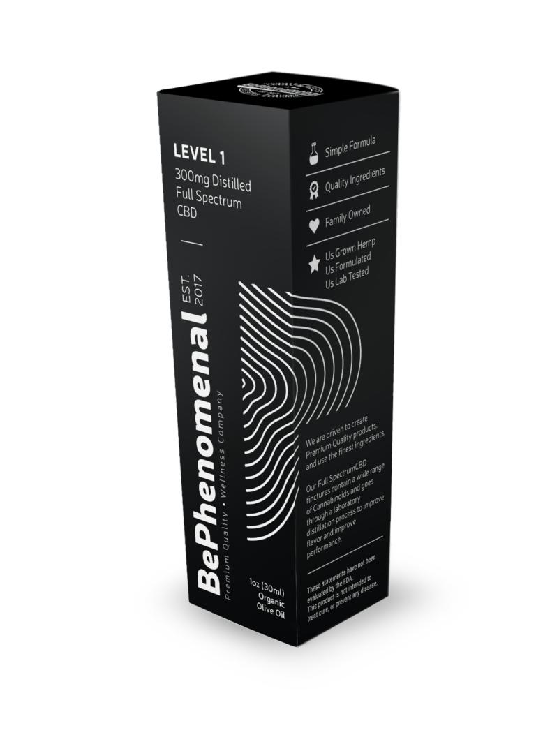 Level 1 Distilled Full Spectrum Tincture