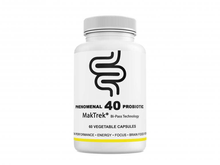 40 Probiotic Maktrek® Bi-Pass Technology Product Image