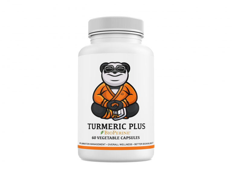 Natural Turmeric with BioPerine Product Bottle Image