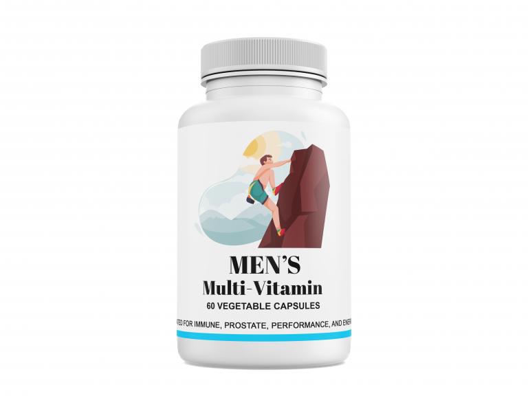 Men's Daily Multi-Vitamins + Energy