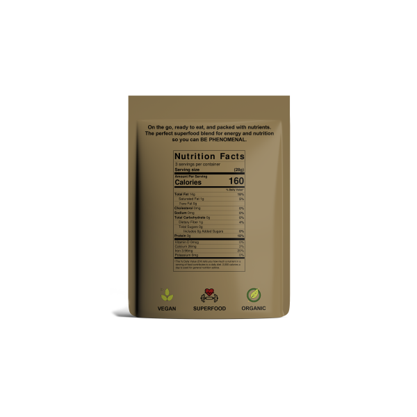 Superfood Hemp Seeds Nutrition Facts