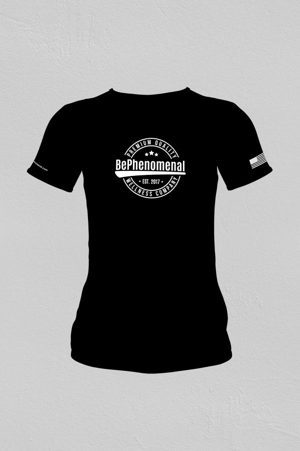 be phenomenal t-shirt black
