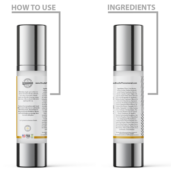 Daily Moisturizer Product Label