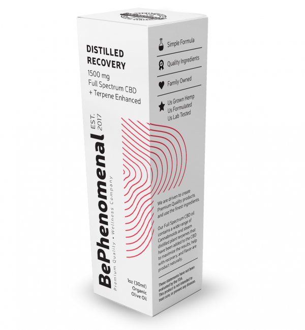 1500mg DISTILLED Recovery